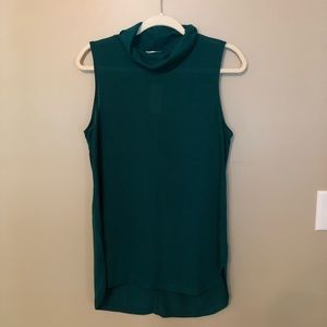 NWT LOFT Green Blouse